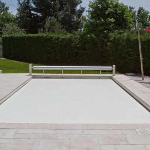 Schwimmbadrolloabdeckung Eklips