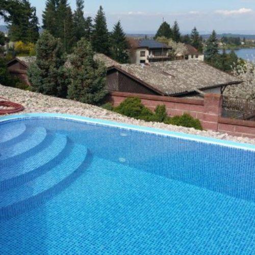 Realizace bazénů a zastřešení