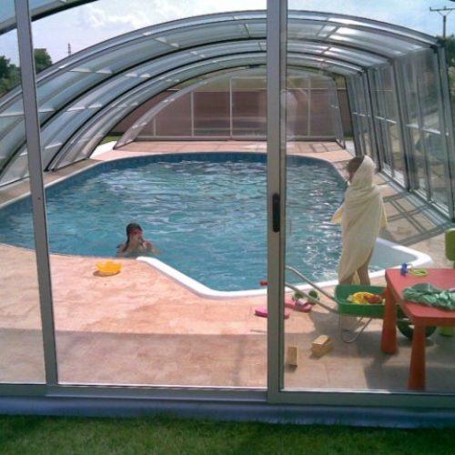 Zastřešení bazénu Harmony