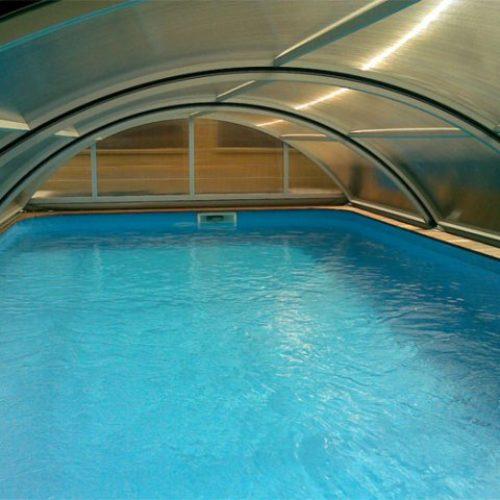 Zastřešení bazénu Practic