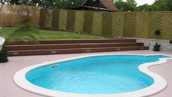 Kalkulace laminátových bazénů