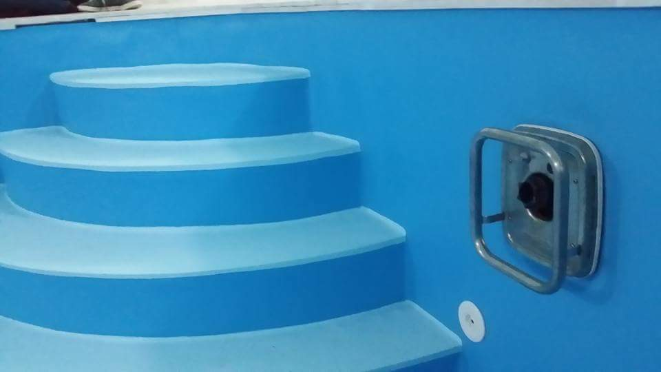 Rekonstrukce plastových bazénů